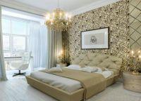 Дизайн спальни в светлых тонах9