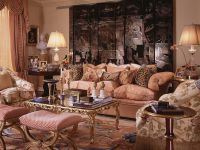 Дизайн зала в частном доме3
