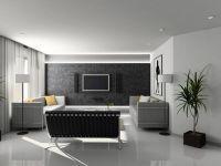 Дизайн зала в частном доме5