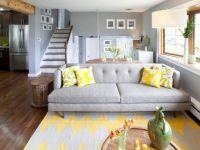 Дизайн зала в частном доме7