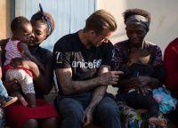 Дэвид Бекхэм посетил Африку в качестве посла UNICEF