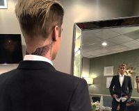 Джастин Бибер показал новую татуировку