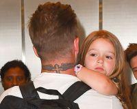 Бекхэм с дочерью Харпер