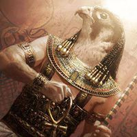 Египетский бог солнца