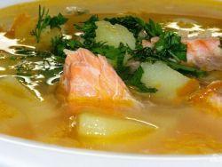 суп из форели в мультиварке