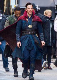 В сети появились новые фото знаменитого британского актера Бенедикта Камбербэтча