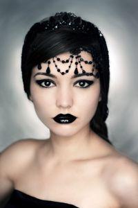 готический макияж