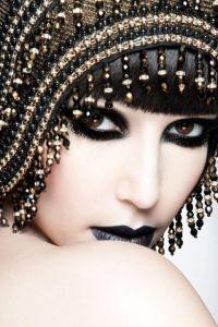 готический макияж 3