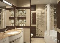 Идеи для маленькой ванной комнаты 10