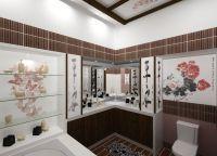Идеи для маленькой ванной комнаты 2