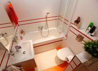 Идеи для маленькой ванной комнаты 5