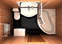 Идеи для маленькой ванной комнаты 6