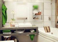 Идеи для маленькой ванной комнаты 7