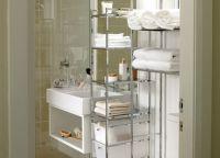 Идеи для маленькой ванной комнаты 8