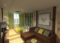 Идеи для однокомнатной квартиры9