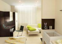 Идеи для однокомнатной квартиры10