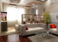 Идеи для однокомнатной квартиры11