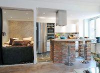 Идеи для однокомнатной квартиры19