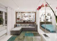 Идеи для однокомнатной квартиры2