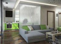 Идеи для однокомнатной квартиры3