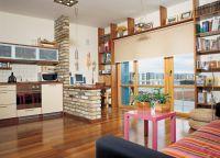 Идеи для однокомнатной квартиры5