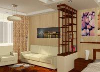 Идеи для однокомнатной квартиры7