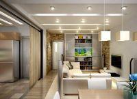 Идеи для однокомнатной квартиры8