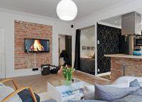 Идеи интерьера для маленьких квартир6