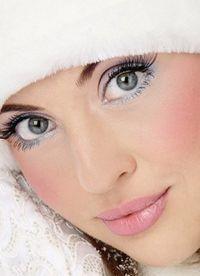 серебряный макияж 7