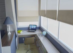 Дизайн интерьера балкона -1