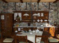 Интерьер деревянного дома внутри5