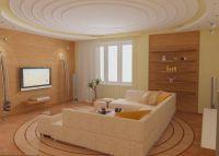 Интерьер гостиной-спальни9