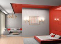 Интерьер гостиной-спальни3