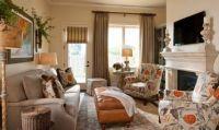 Интерьер гостиной в частном доме7