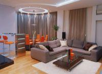 Интерьер гостиной в доме9