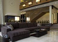 Интерьер гостиной в доме10