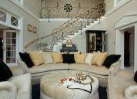 Интерьер гостиной в доме12