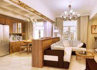 Интерьер гостиной в доме14