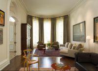 Интерьер гостиной в доме8