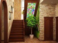 5. Интерьер холла с лестницей