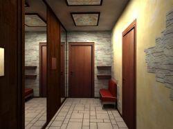 Интерьер узкого коридора