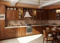 Интерьер кухни в частном доме11