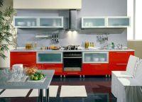 Интерьер кухни в частном доме13