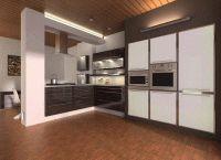 Интерьер кухни в частном доме14