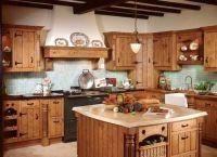 Интерьер кухни в частном доме16