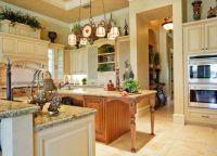 Интерьер кухни в частном доме17