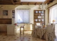 Интерьер кухни в частном доме18