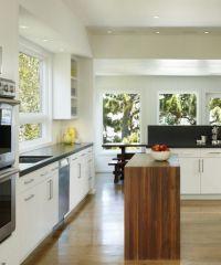 Интерьер кухни в частном доме7