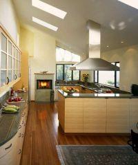 Интерьер кухни в частном доме8