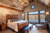 интерьер спальни в деревянном доме 4